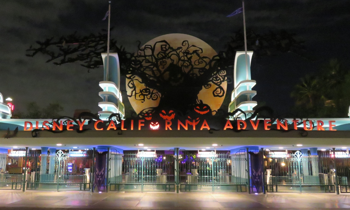 A Disney Halloween atNight