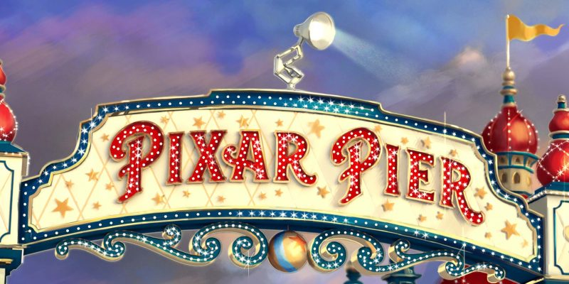 Pixar Pier Coming Soon!!!