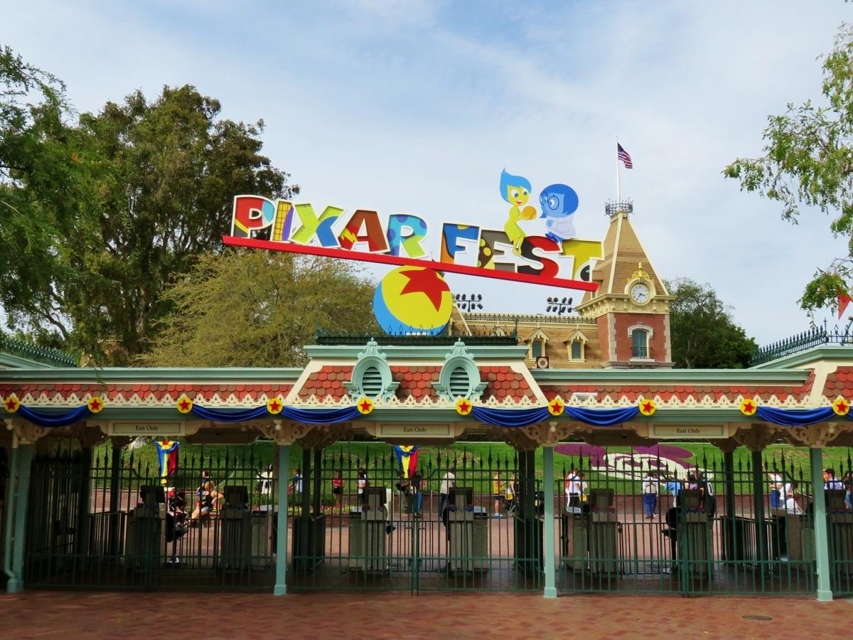 Pixar Fest, Spring Colors andTreats!!